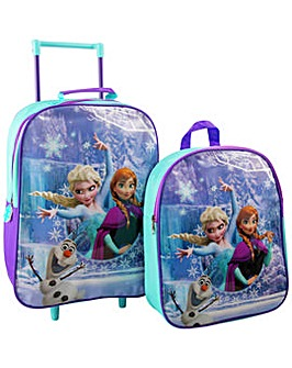 Disney Frozen 2 Piece Kids Luggage Set