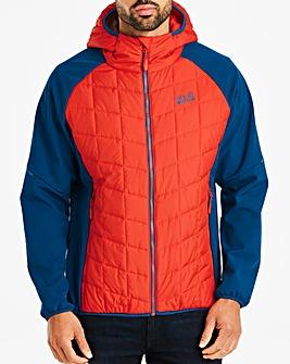 Jack Wolfskin Grassland Hybrid Hooded Jacket