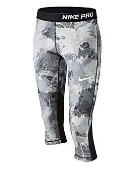 Nike Older Girls Pro Col Capri Pants