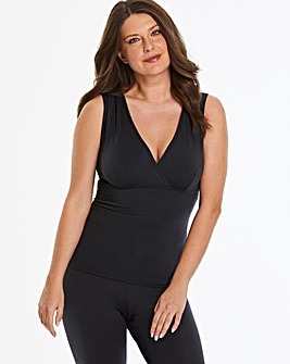 Pretty Secrets Modal Thermal Black Vest