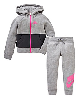 Nike Young Girls Futura Hoodie And Jogge