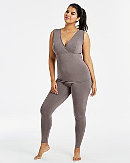 Pretty Secrets Modal Thermal Grey Vest