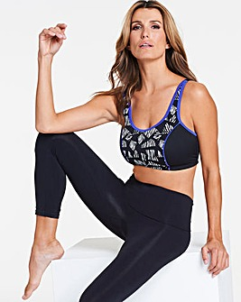 High Impact Animal Printed Sports Bra