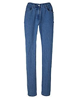 Elle Straight Leg Jeans Length Short