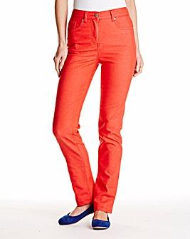 Straight Leg Jeans Length 31in