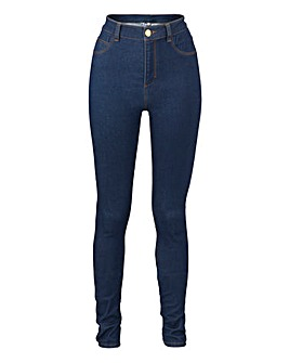 Fly Front Jeggings Long Length