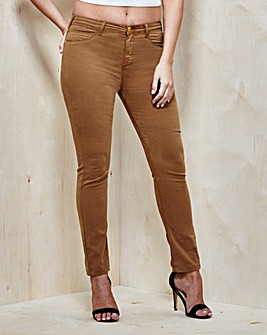 Fly Front Jeggings Long