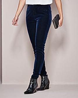 Velvet Slim Leg Jean 25in