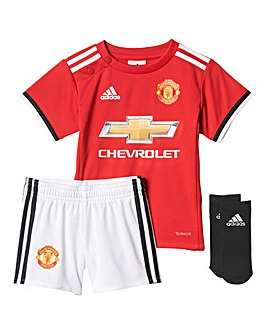 adidas Infants MUFC Home Mini Kit
