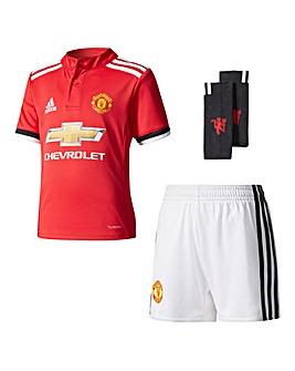 adidas Junior MUFC Home Mini Kit