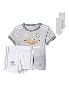 adidas Infants MUFC Third Mini Kit