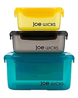 Joe Wicks 3 Piece Storage Set