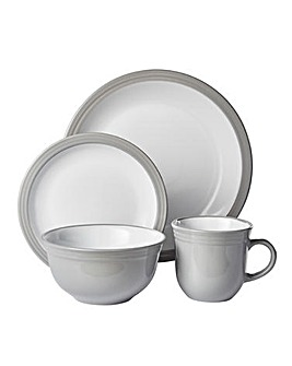 Camden 16 Piece Dinner Set Grey