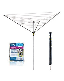 Minky Easybreeze 35m 3 Arm Outdoor Airer Plus Deluxe Rotary Cover