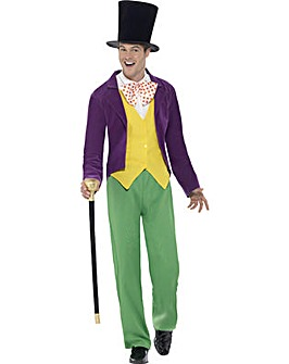 Roald Dahl - Willy Wonka Adult Costume