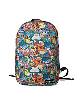 Pokemon Character Backpack
