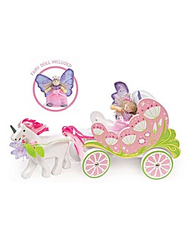 Le Toy Van Carriage, Unicorn and Fairy