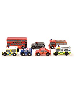 Le Toy Van London Car Set