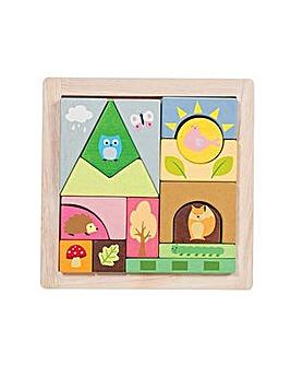 Le Toy Van Woodland Puzzle Blocks