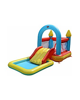 Bouncy House and Pool - 10ft - 65 Litres
