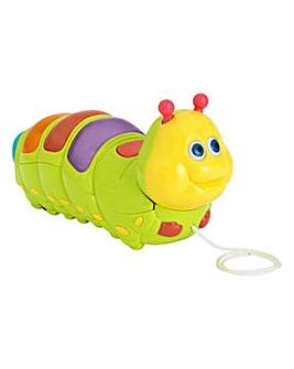 Chad Valley Pull Along Caterpillar