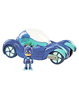 PJ Masks Deluxe Vehicle & Cat Boy Figure