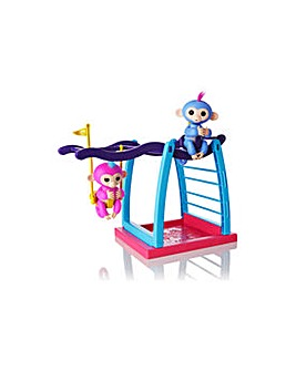Fingerlings Monkey Playset with Two