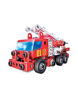 Junior Rescue Fire Engine Building Set
