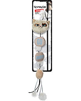 Grumpy Cat Annoying Plush Cat Wand