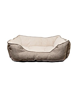40 Winks Luxury Truffle Square Bed 28""