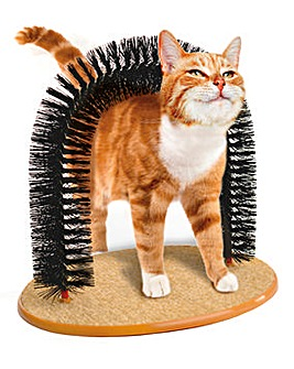 Purrfect Arch Cat Scratcher and Brush