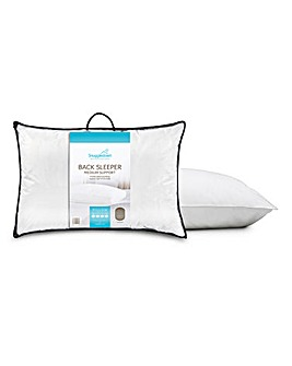 Snuggledown Luxury Back Sleeper Pillow