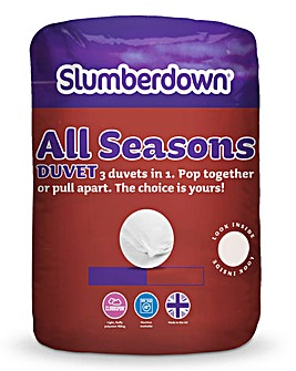 Slumberdown All Seasons Duvet