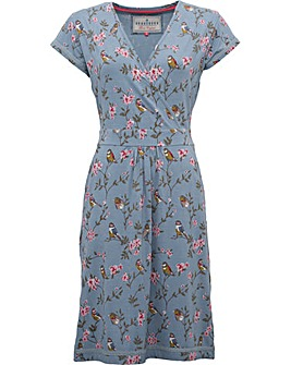 Brakeburn Blossom Wrap Dress