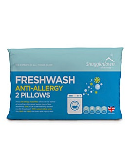 Snuggledown Freshwash Anti-Allergy Pillows