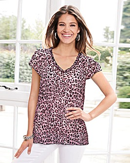 Together Animal Print Blouse