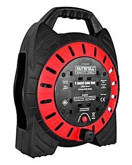 Faithfull 20M 13A Cable Reel