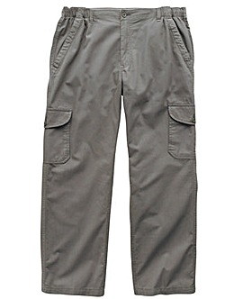 Premier Man Side Elasticated Lightweight Cargo Trousers 31in