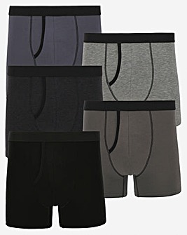 Pack of 5 Grey Mix A-Fronts