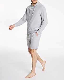 Lounge Hoodie and Shorts Set