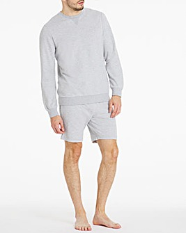 Lounge Sweatshirt and Shorts Set