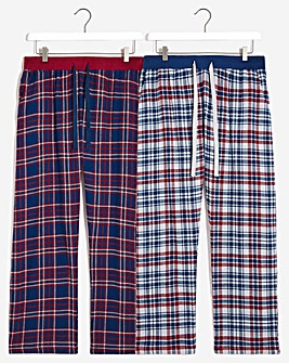 Two pack Check Lounge Pants