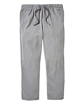 Capsule Grey Fleece Open Hem Loungepants