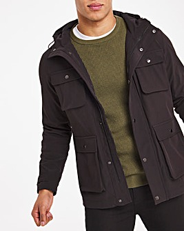 Black Bellow Four Pocket Jacket