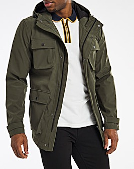 Khaki Bellow Four Pocket Jacket