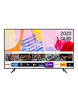 "Samsung QE55Q60TAUXXU 55"" QLED 4K HDR TV"