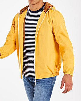 Yellow Hooded Jacket