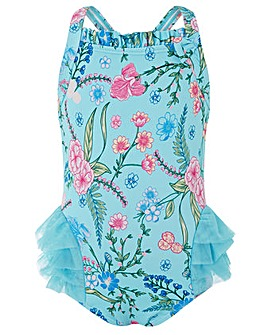Monsoon Baby Elsa Tutu Swimsuit