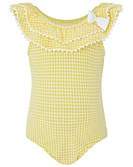 Monsoon Baby Sunflower Bow Swimsuit