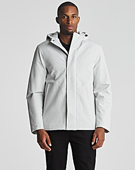 Hooded Casual Tech Jacket
